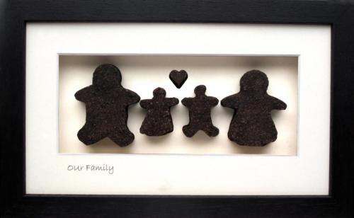 Familie Geschenk Kinder
